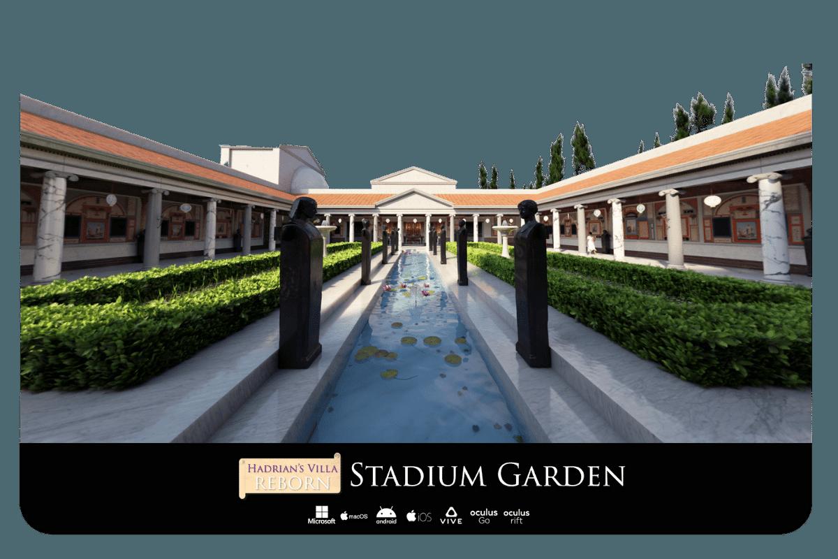 Hadrian's Villa Reborn Stadium Garden