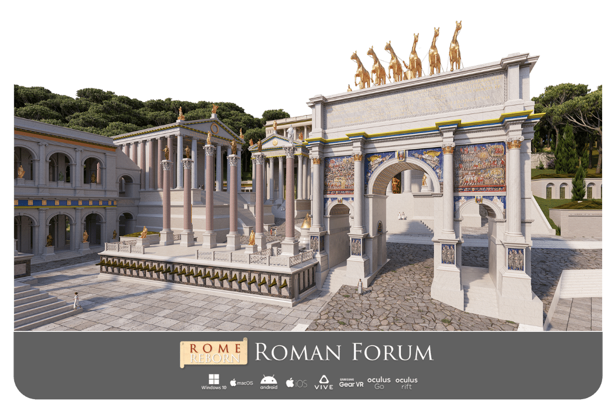 Rome Reborn Roman Forum