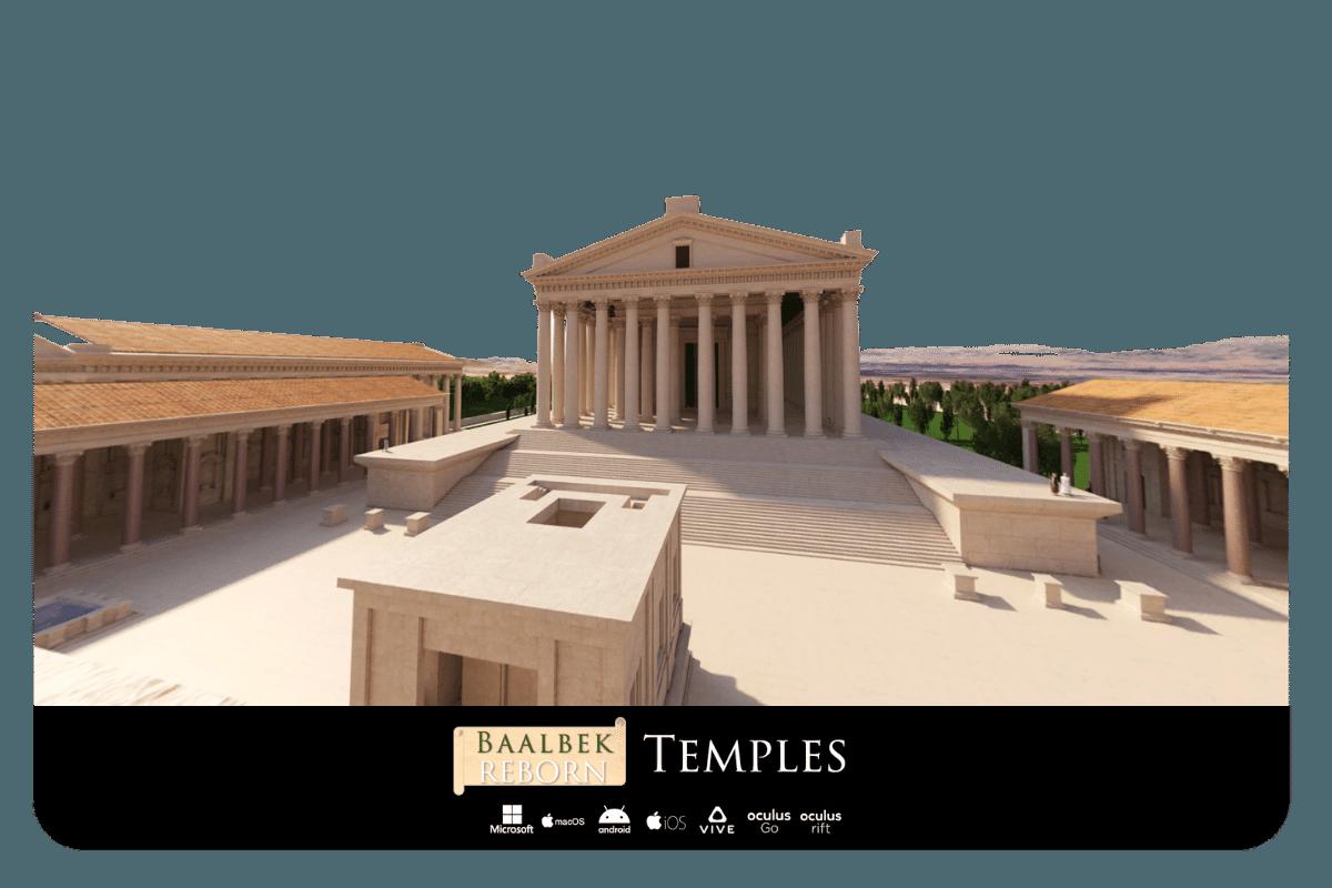 Baalbek Reborn Temples